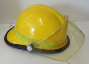 Bullard Firedome Series Firefighting Helmet Yellow Size 6 1 2 8