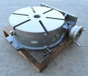Nice Yuasa 20 Horizontal Vertical Rotary Table 550 056