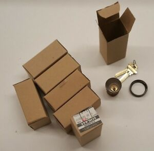 lot Of 7 Schlage Mortise Lock Cylinders 20 001 613 Ce Keyway Keyed 1 bit