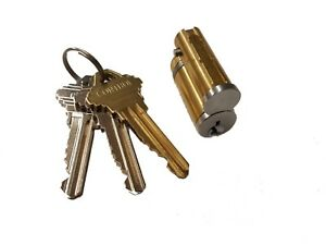 Lfic Lock Cylinder For Schlage Interchangeable Core Ic Includes Control Key