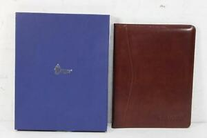 Royce Leather Portfolio Padfolio Professional Folder Business Notepad Holder