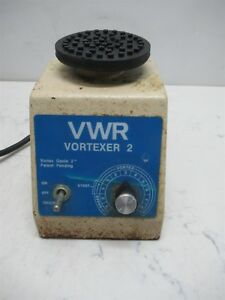 Vwr Vortexer 2 Model G 560 Laboratory Shaker Mixer Lab Unit Variable Speed