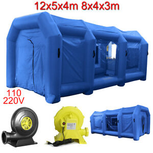 39ft 26ft Inflatable Spray Booth Custom Tent Car Paint Booth Inflatable Car