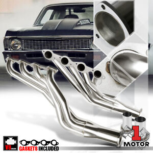 Ss Long Tube Exhaust Header Manifold For 67 72 Chevy 396 402 427 454 Big Block