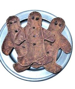 New Handmade 3 Pc Gingerbread Boy Scented Bowl Fillers Primitive Country
