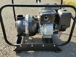 Pacer 3 Water Trash Pump Briggs stratton 8hp Engine New Never Used
