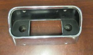 1967 68 Mustang Shelby Original used Dash Radio Control Bezel