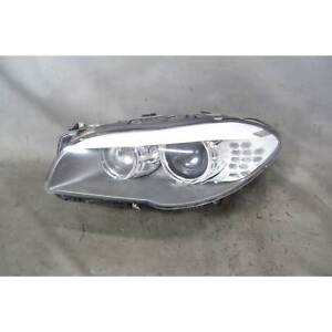 2011 2013 Bmw F10 5 series Sedan Left Front Xenon Adaptive Headlight Lamp Oem