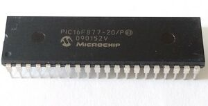 Microchip Pic 16f877 20 20mhz New Mcu 35 Pcs Microcontroller Usa Seller Fastship