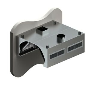 L t Commercial Custom Made 48 Exhaust Hood Vent System With Air Maker