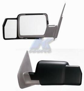 K Source Snap Zap Clip on Towing Extension Mirror Ford F 150 2004 08 81800
