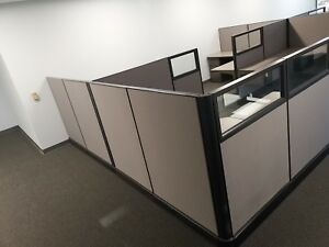 6 X Mint Condition Herman Miller Ethospace Cubicle 1000 west Covina Ca