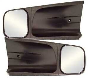 Cipa Clip on Towing Extension Mirror Set Fits Full Size Gm Chevy 1988 2000 10200