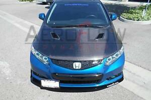 2012 2013 Honda Civic Coupe Splitter V2 Si