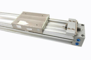 Smc My1c40g 1650l z Rodless Cylinder Linear Actuator 40mm Bore 1650mm Stroke