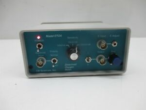 Cb Sciences Dissolved Oxygen Meter Model Etox Bio potentiostat Laboratory Lab