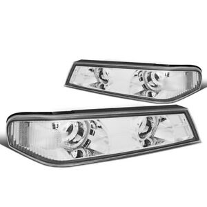Front Bumper Corner Light Turn Signal Lamps For 04 12 Chevy Colorado gmc Canyon