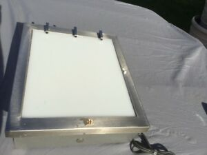 Wolf X ray Viewer Light Box 20 X 17 Tested And Working