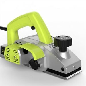 1020w 220v Powerful Woodworking Power Tools Electric Wood Planer Handheld Zv