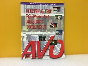 Avo Electrical Test Equipment And Measuring Instruments Manual