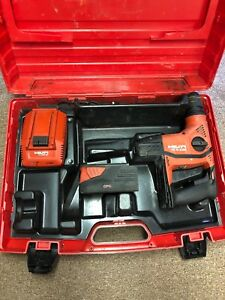 Hilti Te 6 a36 36 Volt Cordless Rotary Hammer Drill Kit C 4 36 90 Charger