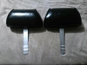 68 69 1970 Ford Mustang Fastback Front Bucket Seat Head Rests