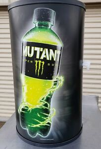New Monster Mutant Soda Beverage Cooler Cold Drink Merchandiser W Lid