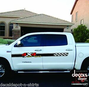 2 4x4 Sticker Decal Sticker For Chevy Silverado Gmc Sierra Toyota Tundra Etc