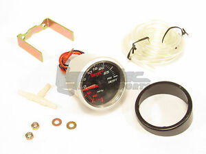 Garrett Mechanical Turbo Boost Gauge 30 Inhg Of Vacuum To 30 Psi Of Boost New