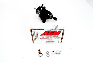 Aem Adjustable Fuel Pressure Regulator Fpr Honda S2000 Civic Accord Cl 25 301bk