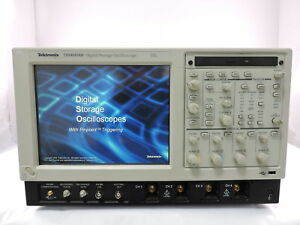 Tektronix Tds6804b Digital Oscilloscope 4 Channel 8ghz 20gs s Loaded With Opts