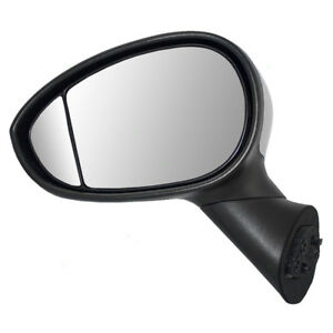 New Drivers Power Side Mirror Chrome Heated Blind Spot Glass 12 13 14 Fiat 500
