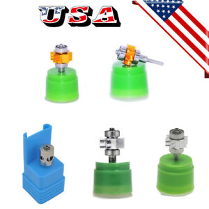 Dental High Speed Handpiece Air Turbine Cartridge Bearing Push Button Rator Usa