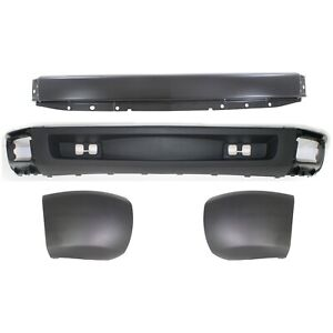 New Bumper Face Bar Kit Front For Chevy 15836962 15838397 15838398 15915504