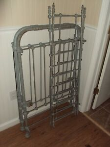 Vintage Iron Garden Gate Yard Art Architectural Salvage Lot Repurpose 43 X29