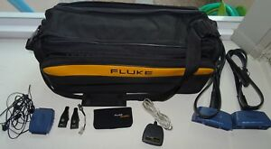 3 Set Of Fluke Dsp 4000 Accessories