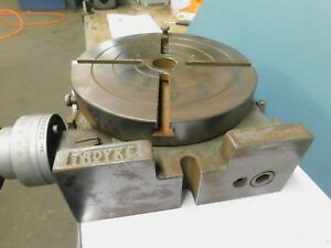 Troyke 9 Vertical Horizontal Rotary Table Model U 9