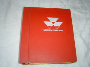 Massey Ferguson Mf 540 550 Combine Shop Service Manual Wiring Diagrams Original