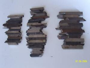 Lot Of 48 Hss Tool Steel Bits 3 8 5 16 1 4 For Lathe Machinist
