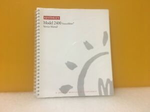 Keithley 2400 Sourcemeter Service Manual