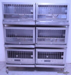 Wahman Cages Stainless Steel Animal Cage