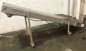 15 X 100 Powered Belt Conveyor stainless