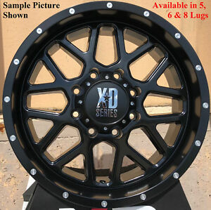 4 New 20 Wheels Rims For Ford F 350 2015 2016 2017 2018 Super Duty 1163