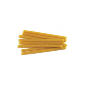 Keystone 1880775 Corning Yellow Sticky Dental Wax Sticks 120 bx 1 Lb