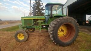 1977 John Deere 4430 Quad Range W duals Showing 3522 Hours weights new Batteries