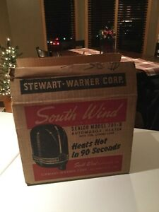 1930 1948 Southwind Heater 781 b Nos New In Box Beautiful Wow