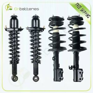For 2003 2004 2005 2006 2007 2008 Toyota Corolla Both 4 Quick Struts W Spring