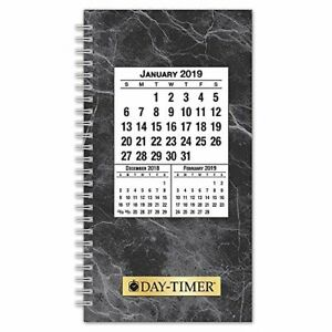 2019 Daily Planner Refill Two Pages Spread Classic Pocket Size 2 3 1 2 X 6 1 2
