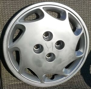 Honda Accord 1988 1989 14 9 Spoke Oem Right Hubcap Wheel Cover 44733 Se0 9800