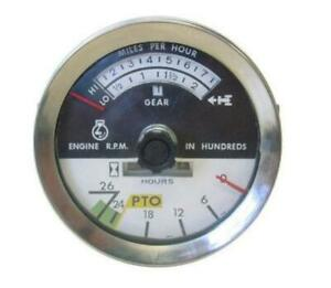 New Ih International Tractor Tachometer 1066 1086 1466 1486 766 786 886 966 986